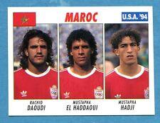 USA '94 - The Knight Figurina-Sticker n. 229 -DAOUDI#EL HADDAOUI#HAD-MAROCCO-New