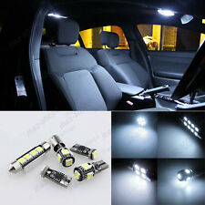 13x White LED Interior Bulb Package For VW Jetta MK6 (2011-2013) + License Light