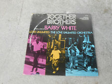 BARRY WHITE & THE LOVE UNLIMITED ORCHESTRA-TOGETHER BROTHERS-OST-LP-1974