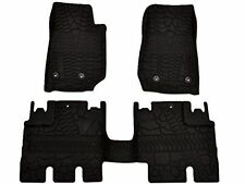 Mopar 82213860 Jeep Wrangler Unlimited 4-Door Black All-Weather 3-Piece Floor...