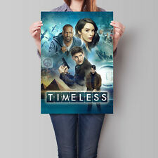 Timeless Poster 2016 TV Series Cast Promo 16.6 x 23.4 in (A2)