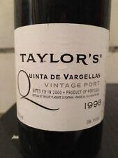 Taylor's Quinta de Vargellas Vintage Port 1998 HALF BOTTLE