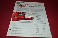 Massey Ferguson Price Comparison MF Vs. IHC Combines Harvest Topics YABE10 ver2