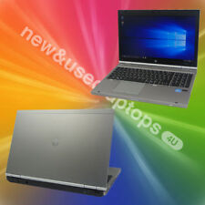 HP EliteBook 8560p Core i7-2720MQ 2.20GHz 4GB Ram 160GB SSD Webcam Laptop