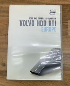 Volvo XC90 2011 GPS Navigation Sat Nav HDD RTI Europe Update Discs