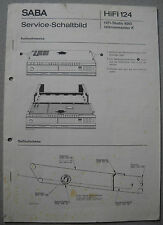 SABA HiFi-studio 8061 telecommander K service manual