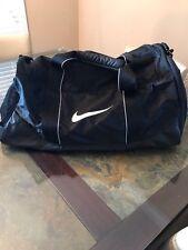 "Nike Duffle Weekender Bag Side Shoe Holder Side Netting 22"" Wide 11"" Tall"