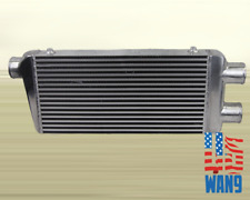 "2in 1Out 3"" Twin Turbo Intercooler 32x12x3 for 350Z Fairlady Z33 G35 G37 370Z V6"