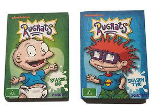 Rugrats Nickelodeon Cartoon Show Season 1 & 2 - 5 Disc Region 4 Free Post