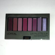 Loreal Paris La Palette Lip Cream Matte & Highlighter - Shade  Plum 02 - New