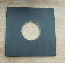 pattern copy Toyo field  5x4  45A  copal 1 fit   lens board 110mm square