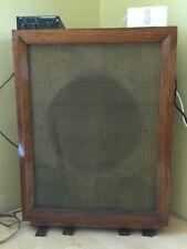 """Vintage Corner Speaker 15"""" Coaxial - Folded Horn Design"""