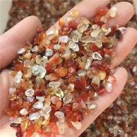 CARNELIAN Agate, 3-7mm tumbled, 1/2 lb bulk xxmini+ stones, Uruguay
