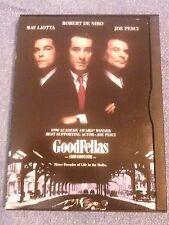 GoodFellas , A 1999 Ws Dvd. Ray Liotta, Robert De Niro (DeNiro), Joe Pesci