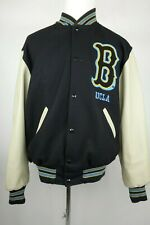 UCLA Varsity Jacket Bruins Wool Leather Men Size Large