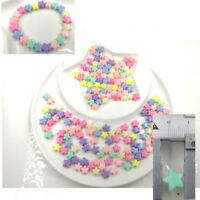 8 Color Pastel for Plastic 200 pcs Crafts mm Star shipping kids Free Diy Beads