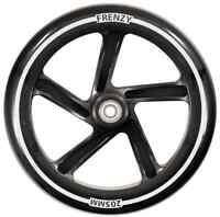 Frenzy 205mm Scooter Wheel w/Bearings - Black