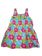 GYMBOREE Girls Multi-color Tunic Floral Top size 10 Sleeveless New w/ Tag
