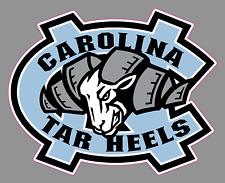"""North Carolina Tarheels 6"""" Logo Vinyl Decal Sticker - Full Color"""