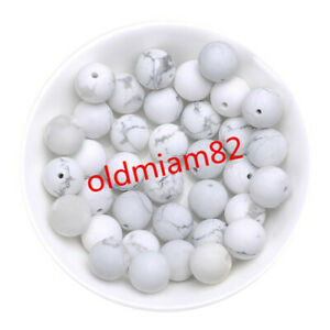 4/6/8/10/12mm Natural Mixed Gemstone Round Loose Bead Choose Your Like Stone