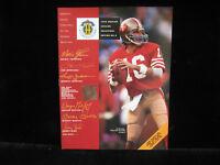 1993 Joe Montana Upper Deck Authenticated Magazine