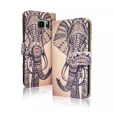 Etui Clapet + Verre Trempé - Samsung Galaxy S 7 ( G 930 ) - Motif Elephant