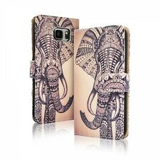 Etui Housse Clapet Samsung Galaxy S 7 Edge ( G 935 ) - Motif Elephant