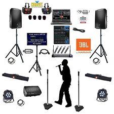 PROFESSIONAL KARAOKE LAPTOP SYSTEM JBL BAR SYSTEM KJ/DJ 2000 WATTS Club System