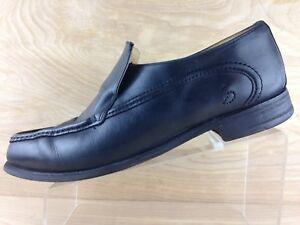 Sweeneys Cruise Mens Black Slip On Moc Apron Toe Loafer U.S Size 12