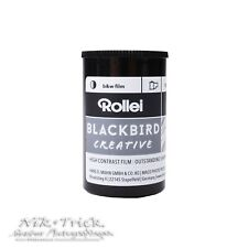 Rollei Blackbird Creative B&W Film ~ 35mm 36 Exposures ~ BRAND NEW PRODUCT!!