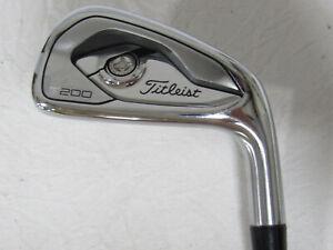Used RH Titleist T200 Single 4 Iron - Regular Flex Steel Shaft