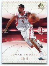 2004-05 SP Authentic Limited Extra 28 Juwan Howard 14/25