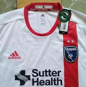 San Jose Earthquake jersey shirt soccer 2016 MLS season adizero
