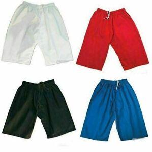 Martial Arts Shorts Karate Uniform Youth/Adult Taekwondo KravMaga Kickboxing MMA