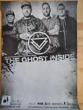 THE GHOST INSIDE 2015 TOUR  -  orig.Concert-Konzert-Poster-Plakat NEU