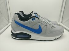 Nike Air Max Command UK 5.5 Wolf Grey Signal Blue Black 629993-036