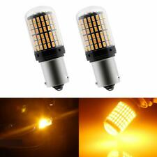 BAU15S 7507 Turn Signal Light PY21W 5009 Canbus No Error Led Bulb Amber Blinker