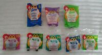 BARBIE HOT WHEELS McDONALD'S HAPPY MEAL 1999 SET OF 8 TOYS