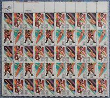 2082 - 2085 20c 1984Summer Olympics, Vf Og Nh, Ful.More. sheet 2082-2085