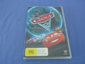 Cars 2 DVD Disney Pixar R4 Free Postage