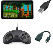 Sega Mega Drive Genesis Micro USB Controller GamePad Fo Android Tablet Smartpone