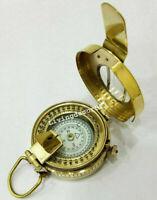 Pocket Compass Nautical British Military WW2 Mark 3'' Solid Brass III Prismatic