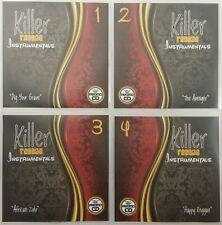 Killer Instrumentals 4CD Jumbo Pack - Awesome Reggae Instrumental Ska, Reggae +