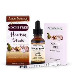 Amber Naturalz - Kochi Free Healthy Stools Digestive Antioxidants for Pets, 1 oz