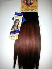 """100% HUMAN HAIR YAKY WEAVE 12"""" #TPT88J;LEVEL COLOR 3;MILKY WAY;WOMEN;FINEST HAIR"""