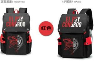 Anime Steins;Gate Makise Kurisu School Bag Backpack Package Waterproof Present