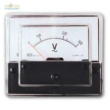Drehspulinstrument analog Voltmeter 300v AC anzeige Einbau Messinstrument