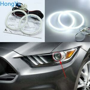 Smd Led Angel Eyes kit DRL Halo Rings For Ford Mustang GT Shelby GT350 2015-2016