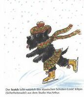 Scottish Terrier M - German Dog Print - MATTED / NEW