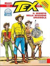 MAXI TEX Aprile 2021 Il Segreto della Missione Spagnola 324 pag. Bonelli Editore